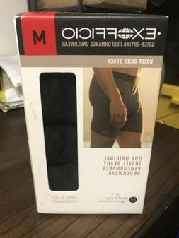 3 Pack EXOFFICIO Give-N-Go Breathable Quick Dry Boxer Briefs