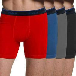 Hanes Big and Tall 4-Pack ComfortBlend Boxer Briefs
