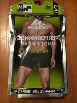 Adidas Climalite Men's Performance Boxer Briefs 2-Pack Bla