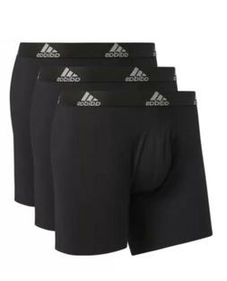 Adidas Climalite Men's Performance Boxer Briefs 3-Pack Bla