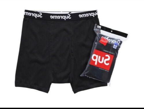 SUPREME BLACK WITH WHITE LABLE Size M