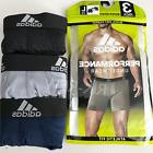 Mens ADIDAS Boxer Briefs 3-Pack Climalite Performance Underw