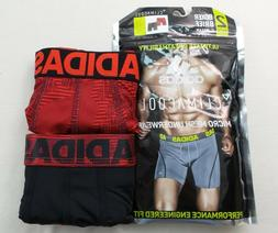 Adidas Men's Boxer Briefs 2 Pack M L Camo Red Black Stretch