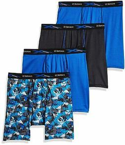Hanes Men's Boxer Briefs X-Temp 4-Pack Performance Lightweig