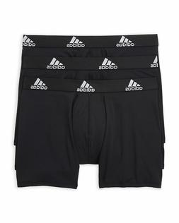 NWT! Mens ADIDAS Boxer Briefs 3-Pack Climalite Performance U