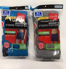 Hanes Tag less Boxer Briefs 10 Pack Mens Assorted Colors & B